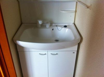 弘前 アパート 中野4 伽俚伽ハウス洗面所