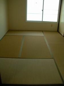弘前市 アパート 茂森新町 スカイハイツ203和室