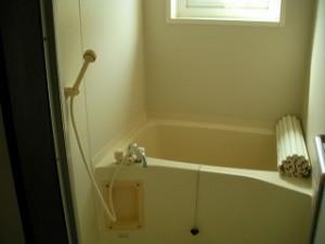 弘前市 アパート 茂森新町 スカイハイツ203浴室
