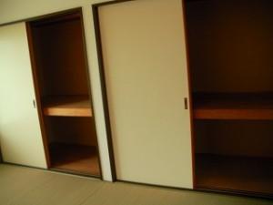 弘前市 アパート 茂森新町 スカイハイツ203和室収納