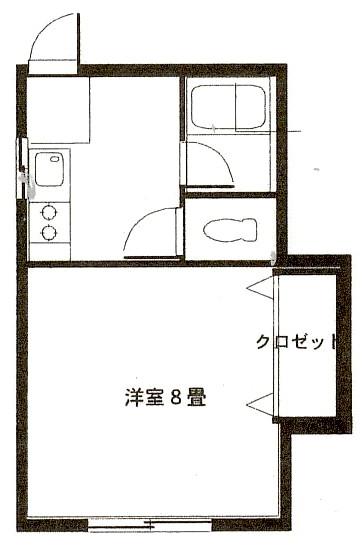 弘前 アパート 富田2丁目 間取り