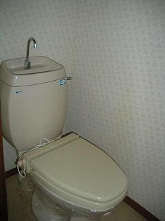 弘前 アパート 南城西 ,トイレ