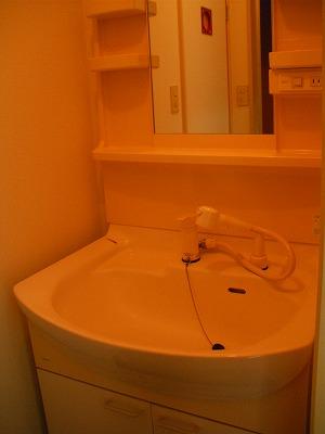 弘前 アパート 末広4丁目 洗面台