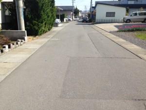 弘前 売地 田園1 丁目 前面道路