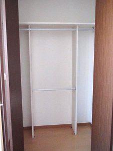 弘前 アパート 品川町41-1 ロイヤルマンション205号クローゼット