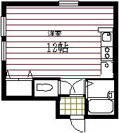 弘前 アパート 桔梗野4 ベルヴューハウス202号