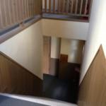 弘前 アパート 桔梗野4 ベルヴューハウス 階段