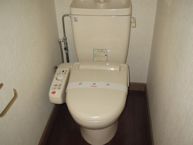 弘前 アパート 桔梗野4 ベルヴューハウス トイレ