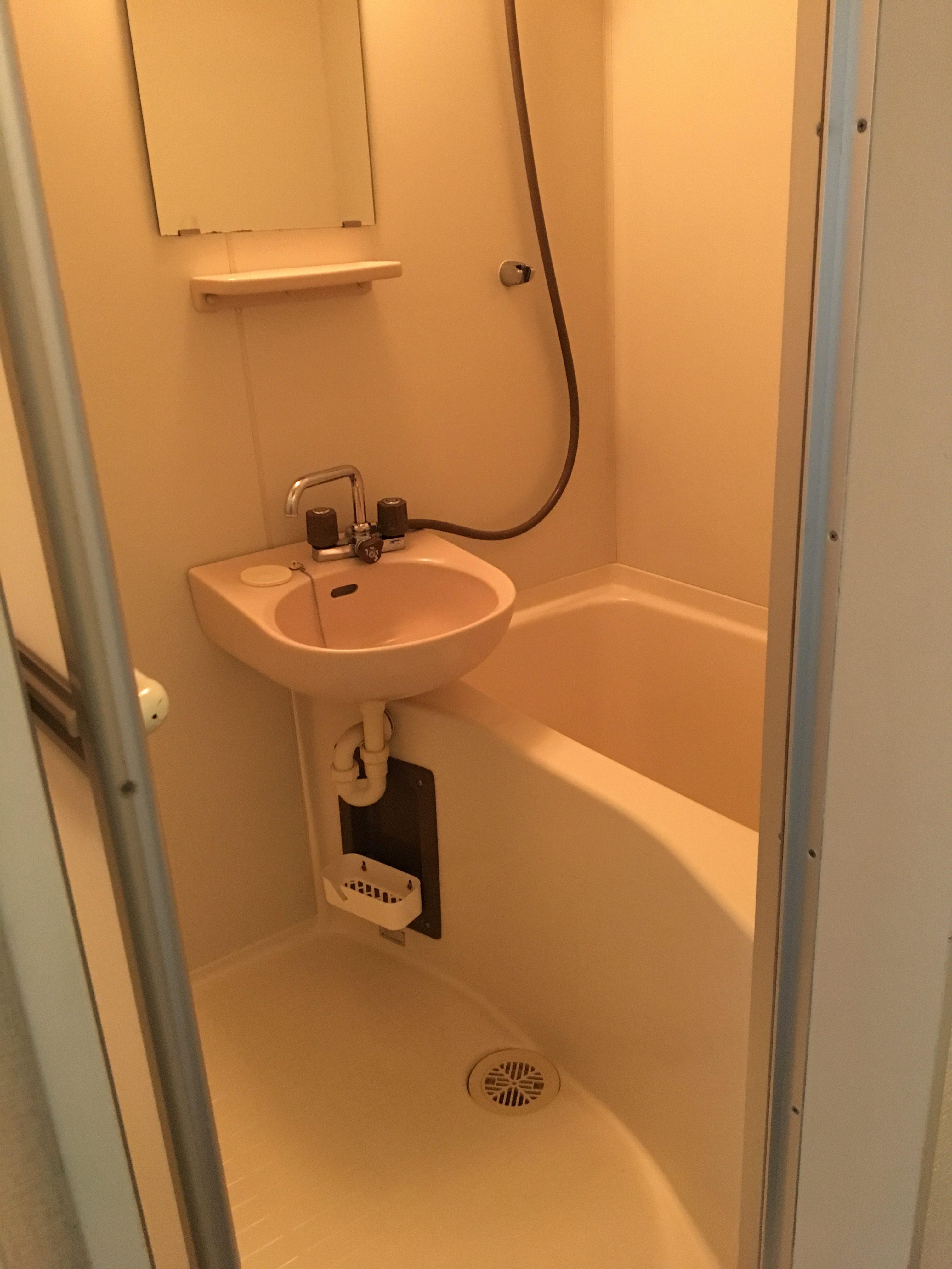 弘前 アパート 茂森町 レオパレス茂森第一浴室