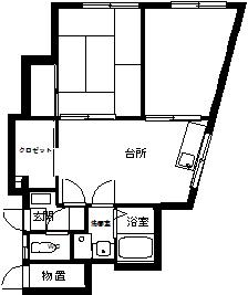 弘前 アパート 富田1 丁目 間取り